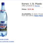 Borsec – 1.5 l la pret de butoi