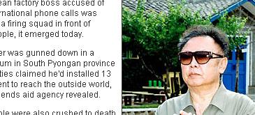 Condamnat la moarte pentru ca a vorbit la telefon