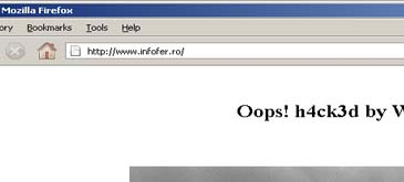 infofer.ro a fost hackuit  adica it has been hacked
