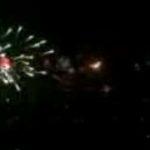 Foc de artificii spectaculos in Reykjavik, Islanda