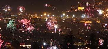 Revelion in Oslo