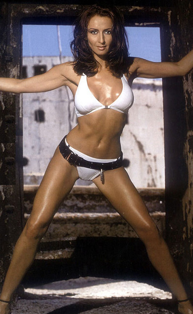 Mihaela Radulescu in Playboy 1
