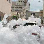 """Sony – """"Foam City"""" (Orasul de spuma)"""