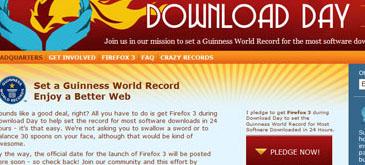 Imi dau cuvantul ca downloadez Firefox 3
