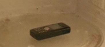 Baga-ti mobilul in cuptorul cu microunde…