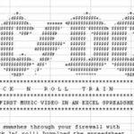 AC/DC – videoclip in Excel (Office carevasazica)