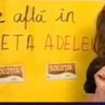 Ce se afla in poseta Adelei?