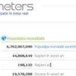 Worldometers – Statisticile lumii actualizate in timp real