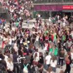 Flash mob: Michael Jackson – Beat It