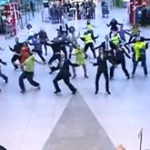 FlashMob in aeroport