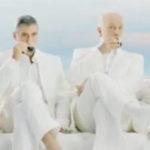 George Clooney a baut un expresso cu John Malkovich