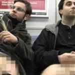 Dezbracati la metrou