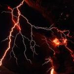 Imagini spectaculoase cu eruptia vulcanului din Islanda