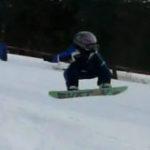 Wesley Muresan – cel mai tanar snowboarder din lume