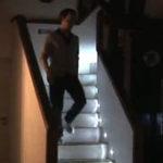 Scara interioara luminata interactiv