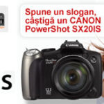 Concurs: Castiga un aparat foto digital CANON PowerShot SX20IS cu un slogan pentru KOYOS.ro!
