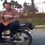 Motociclist plictisit?