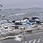 Noi imagini ale dezastrului din Japonia