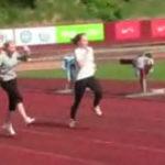 Si blondele practica atletismul….