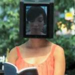 iPad Head Girl