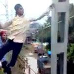 Asa se practica parkour in India