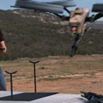 FPSRusia prezinta: Drona echipata cu un machine gun