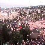 12.740 lampioane au fost inaltate la Iasi