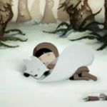 Animatie: The Girl and the Fox