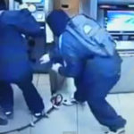 Furt dintr-un bancomat in 60 de secunde