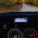 Conducand cu 206 km/h prin padure