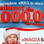 Reduceri de 1 milion de euro din eMAG