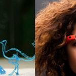 Google Glasses &  3Doodler