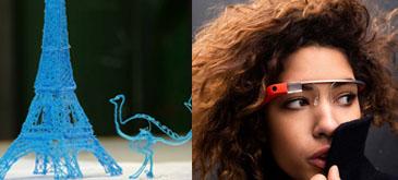 3Doodler & Google Glasses