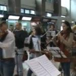 Flashmob la Aeroportul Henri Coanda