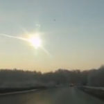 Ploaie de meteoriti in Rusia