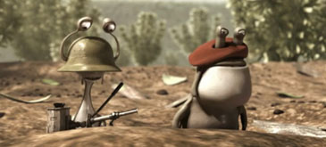 Animatie Slug Invasion