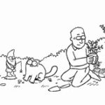 Animatie: Flower Bed – Simon's Cat