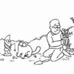 Animatie: Flower Bed – Simon's Cat