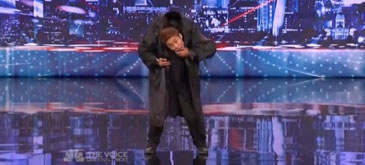 Kenichi Ebina - Matrix Robotik Dancer - Americas Got Talent 2013 Auditions