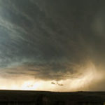 Timelapse: A supercell near Booker, Texas
