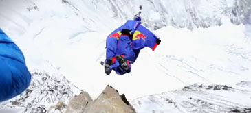 Wingsuit Flying Jump from Everest