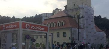 Cabina telefonica Vodafone ramane la Brasov pana pe 26 August (P)
