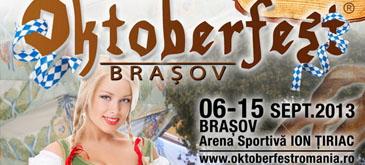 Vineri, 6 septembrie, incepe Oktoberfest Brasov!