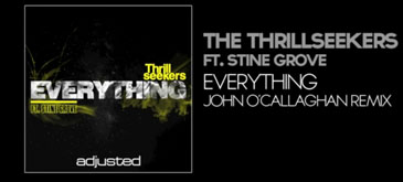 The Thrillseekers Ft Stine Grove - Everything (John O'Callaghan Remix)