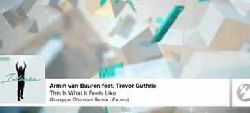 Armin van Buuren feat Trevor Guthrie - This Is What It Feels Like (Giuseppe Ottaviani Remix)