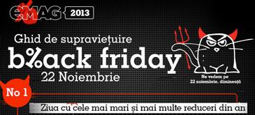 Black Friday 2013 - Lista magazinelor cu reduceri & ofertele cele mai avantajoase