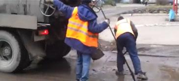 In Rusia se asfalteaza mai rau ca-n Romania