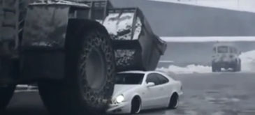 Boss's Car Crushed by Angry Employee