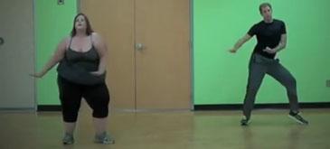 Si grasutele pot dansa