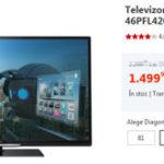 Oferta zilei: Televizor LED Smart TV Philips, 117 cm – <strike> 1499 lei (pret imbatabil) </strike>